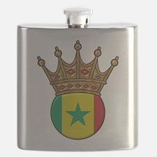 King Of Senegal Flask
