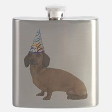 Dachshund Party Flask