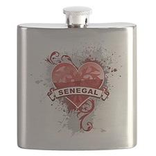 Heart Senegal Flask