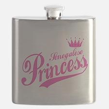 Senegalese Princess Flask
