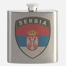 Serbia Flask
