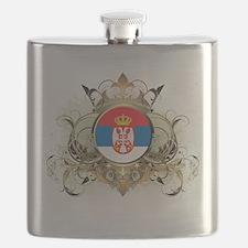 Hip Serbia Flask