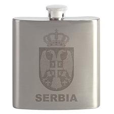 Vintage Serbia Flask