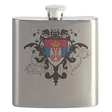 Stylish Serbia Flask