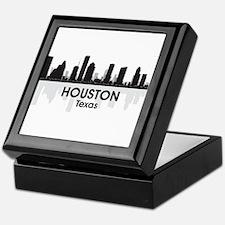 Houston Skyline Keepsake Box