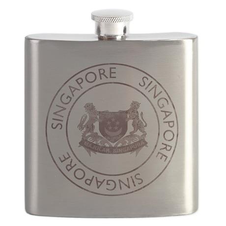 Vintage Singapore Flask