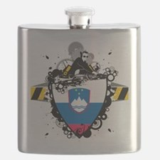 Deejay In Slovenia Flask