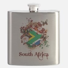 Butterfly South Africa Flask
