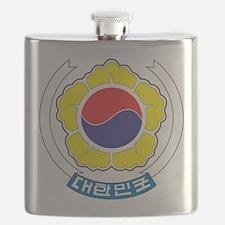 South Korea Coat Of Arms Flask