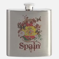 Butterfly Spain Flask