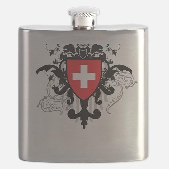 Stylish Switzerland Flask