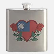 Heart Taiwan Flask