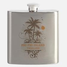 Phi Phi Island Thailand Flask