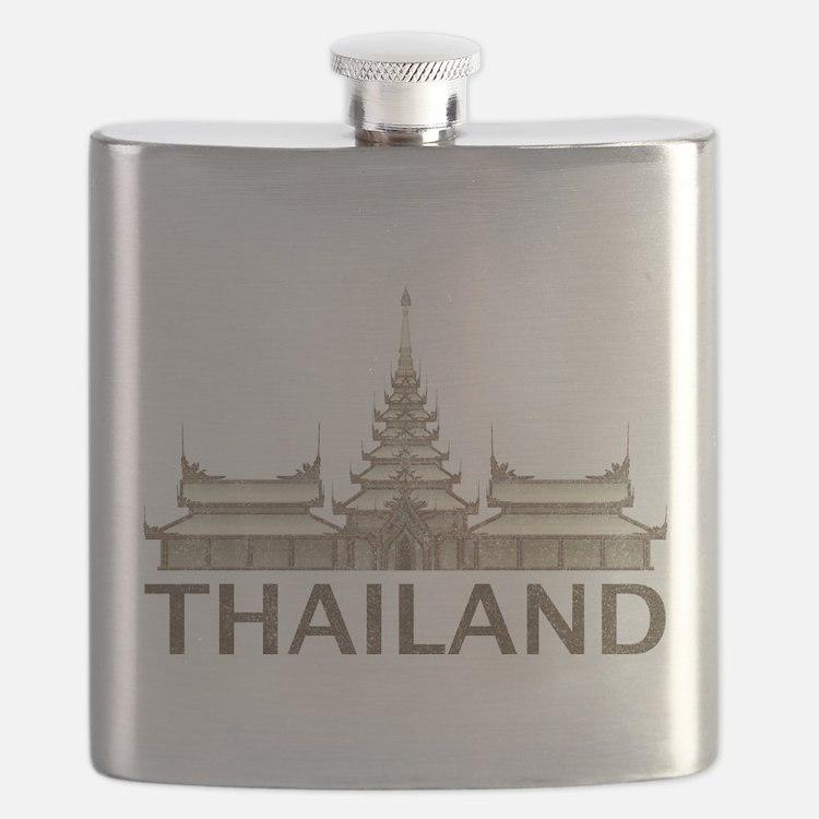 Vintage Thailand Temple Flask