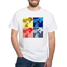 BMX Bike Rider/Pop Art Shirt