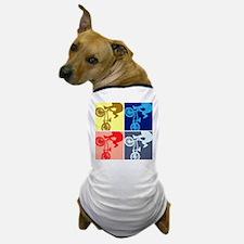 BMX Bike Rider/Pop Art Dog T-Shirt