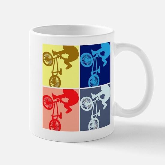 BMX Bike Rider/Pop Art Mug