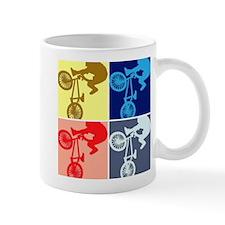 BMX Bike Rider/Pop Art Small Mug