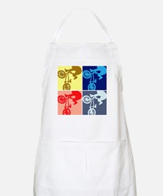 BMX Bike Rider/Pop Art Apron