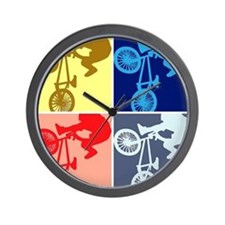 BMX Bike Rider/Pop Art Wall Clock
