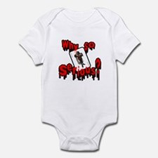 Why so serious? Infant Bodysuit