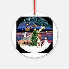 XmasMagic - Beagle Ornament (Round)