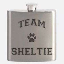 Team Sheltie Flask