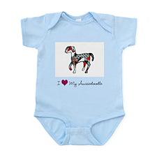 I Love My Aussiedoodle Infant Bodysuit