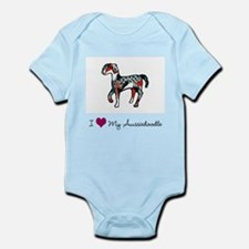 I Love My Aussiedoodle Infant Bodysuit