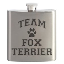 Team Fox Terrier Flask
