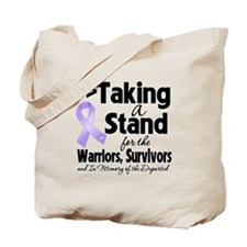 Taking a Stand Cancer Tote Bag