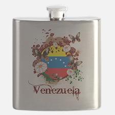 Butterfly Venezuela Flask