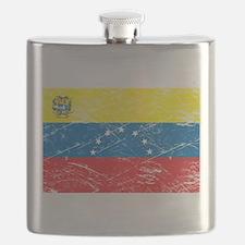 Vintage Venezuela Flag Flask