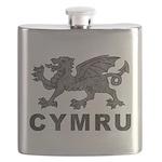 Vintage Cymru Flask