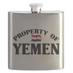 Property Of Yemen Flask
