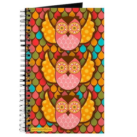 Owl Boheme Pink Journal