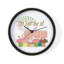 You Had Me At Cupcake Wall Clock