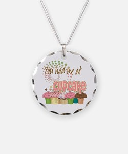 You Had Me At Cupcake Necklace