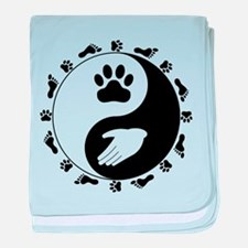 Universal Animal Rights baby blanket