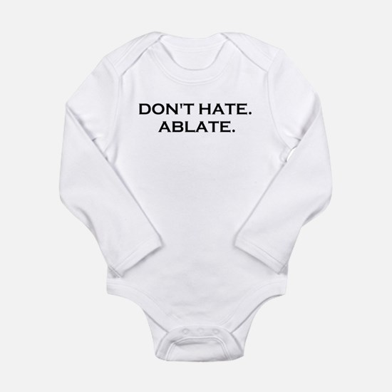 DONT HATE ABLATE Body Suit