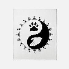 Universal Animal Rights Throw Blanket