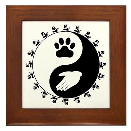 Universal Animal Rights Framed Tile