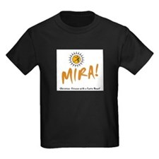 MIRA! logo and words T