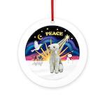 Xsunrise-Peace - Bedlington T Ornament (Round)