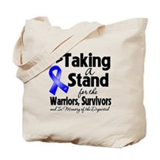 Stand Colon Cancer Tote Bag