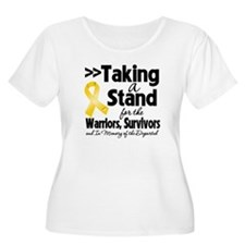Stand Childhood Cancer T-Shirt