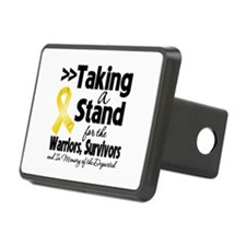 Stand Childhood Cancer Hitch Cover