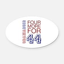 Obama 44 Oval Car Magnet