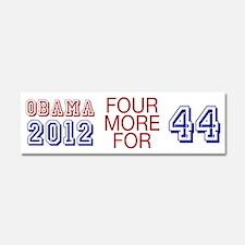 Obama 44 Car Magnet 10 x 3