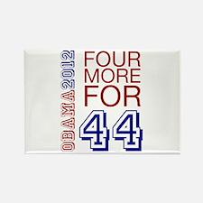 Obama 44 Rectangle Magnet